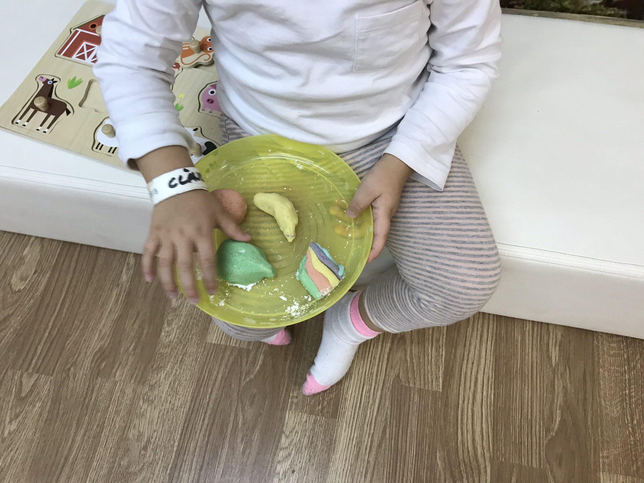 """PLASTILINA CASERA, ecológica y """"comestible""""…"""